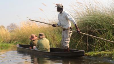 Okavango Hidden Gems - Okavango Delta - Botswana - Luxury Tented Safari Camp - Mokoro