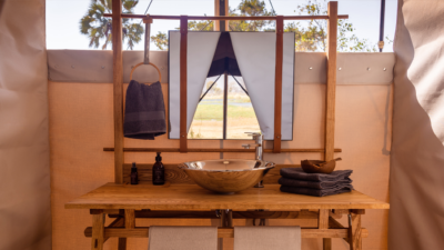 Okavango Hidden Gems - Okavango Delta - Botswana - Maru Camp - Luxury Tented Safari Camp - Bathroom