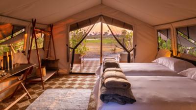 Okavango Hidden Gems - Okavango Delta - Botswana - Maru Camp - Luxury Tented Safari Camp - Bedroom