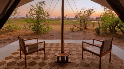 Okavango Hidden Gems - Okavango Delta - Botswana - Maru Camp - Luxury Tented Safari Camp - Deck with View