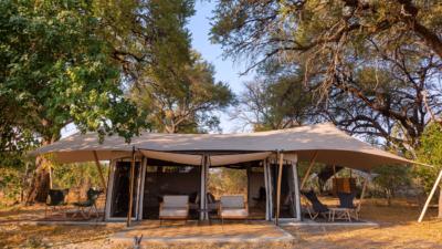 Okavango Hidden Gems - Okavango Delta - Botswana - Maru Camp - Luxury Tented Safari Camp - Tent Exterior